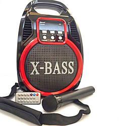 Акустическая система GOLON RX-820 BT, Колонка Bluetooth + MP3, радиомикрофон, пульт, cветомузыка ,радио.
