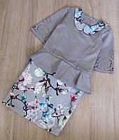 Детское нарядное платье р.128 Мелания-2, фото 1