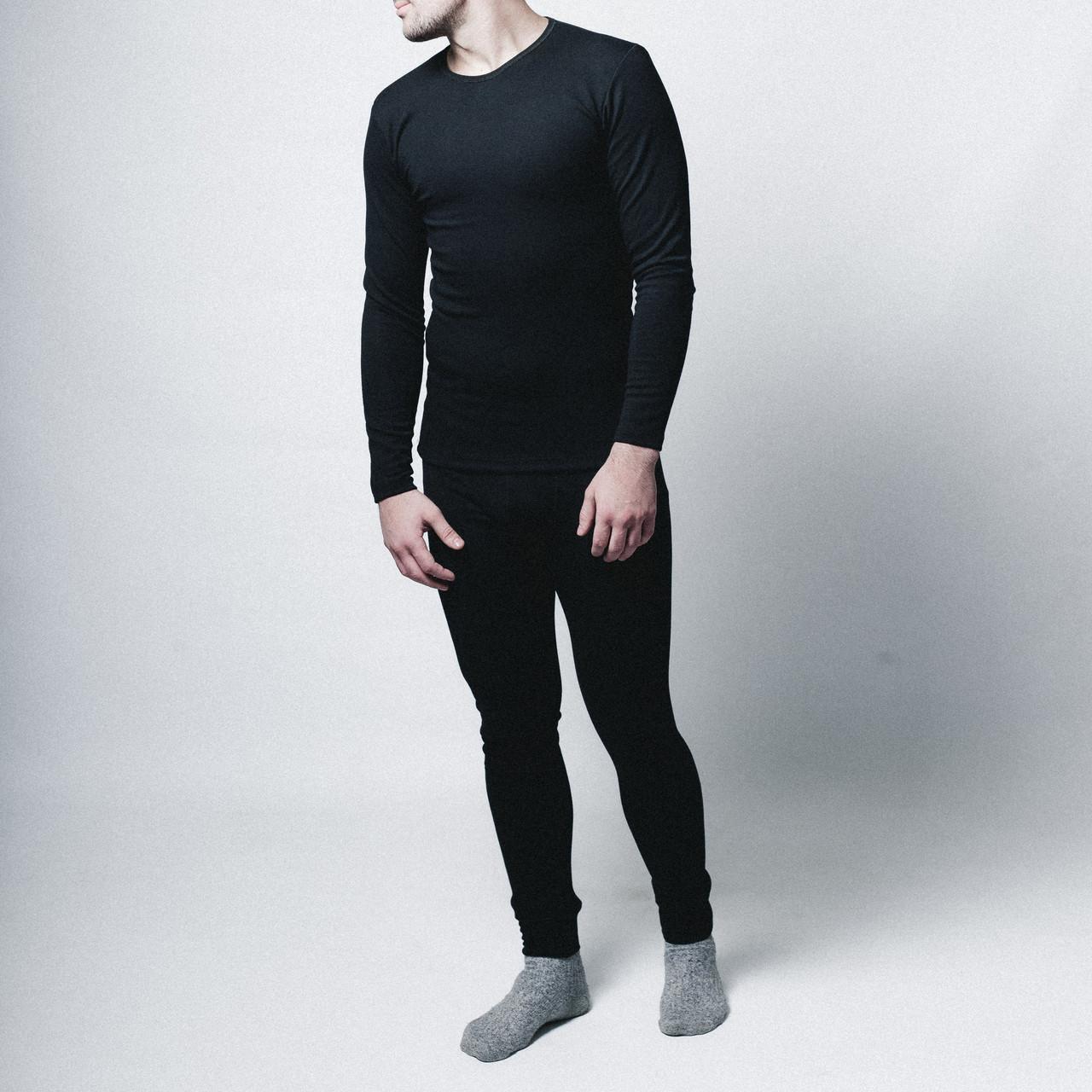 Термобелье мужское черное от бренда Morning Star размер S, M, L, XL