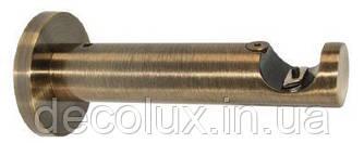 Кронштейн цилиндр на карниз металлический 25 однорядный