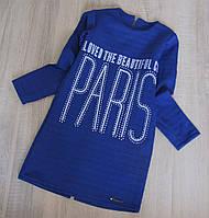 Р.128 детское платье - туника Париж, фото 1