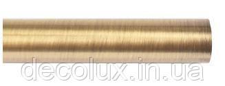 160 см Труба металлическая для карниза 25 мм гладкая
