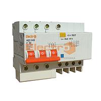Дифференциальный автоматический выключатель АД 2-63