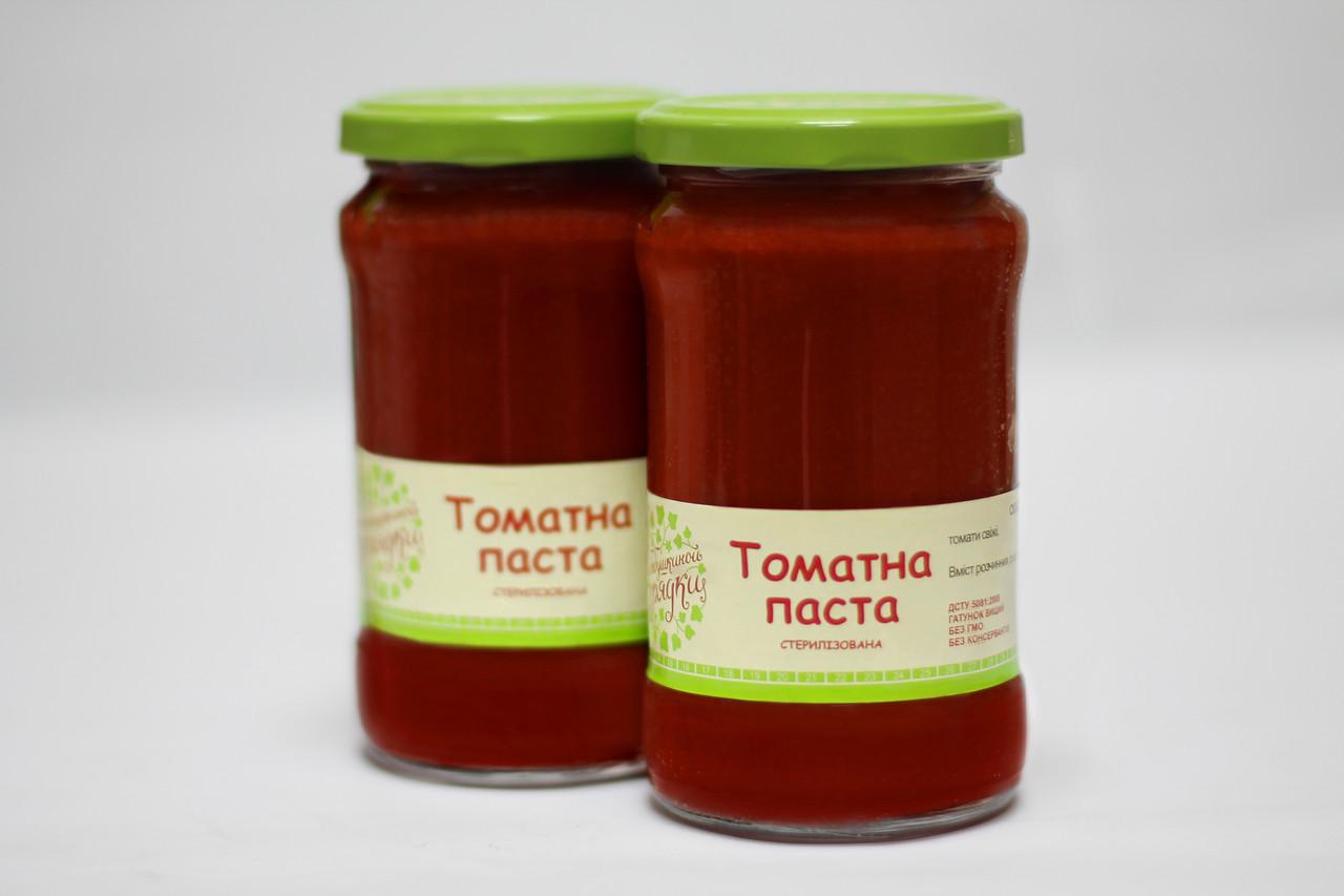 """Томатная паста  0.314 л"""" С Бабушкиной грядки"""""""
