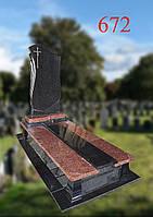 Пам'ятник з лезниковського граніту, фото 1