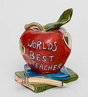 """Фарфоровый подсвечник """"Лучшему в мире учителю"""" (Pavone)"""