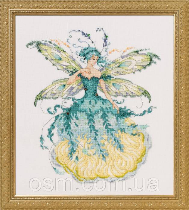 Схема для вышивки March Aquamarine Fairy Mirabilia Designs