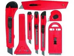Набор ножей Matrix 78991 9мм-4шт 18мм-2шт выдвижные лезвия  789919