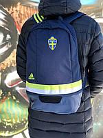 Городской спортивный тёмно-синий рюкзак Adidas Perfomance. Оригинал.