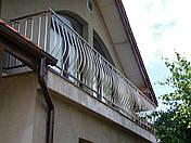 Перила нержавеющие с вертикальными прутами, фото 2
