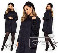Стильное платье     (размеры 48-54)  0146-93, фото 1