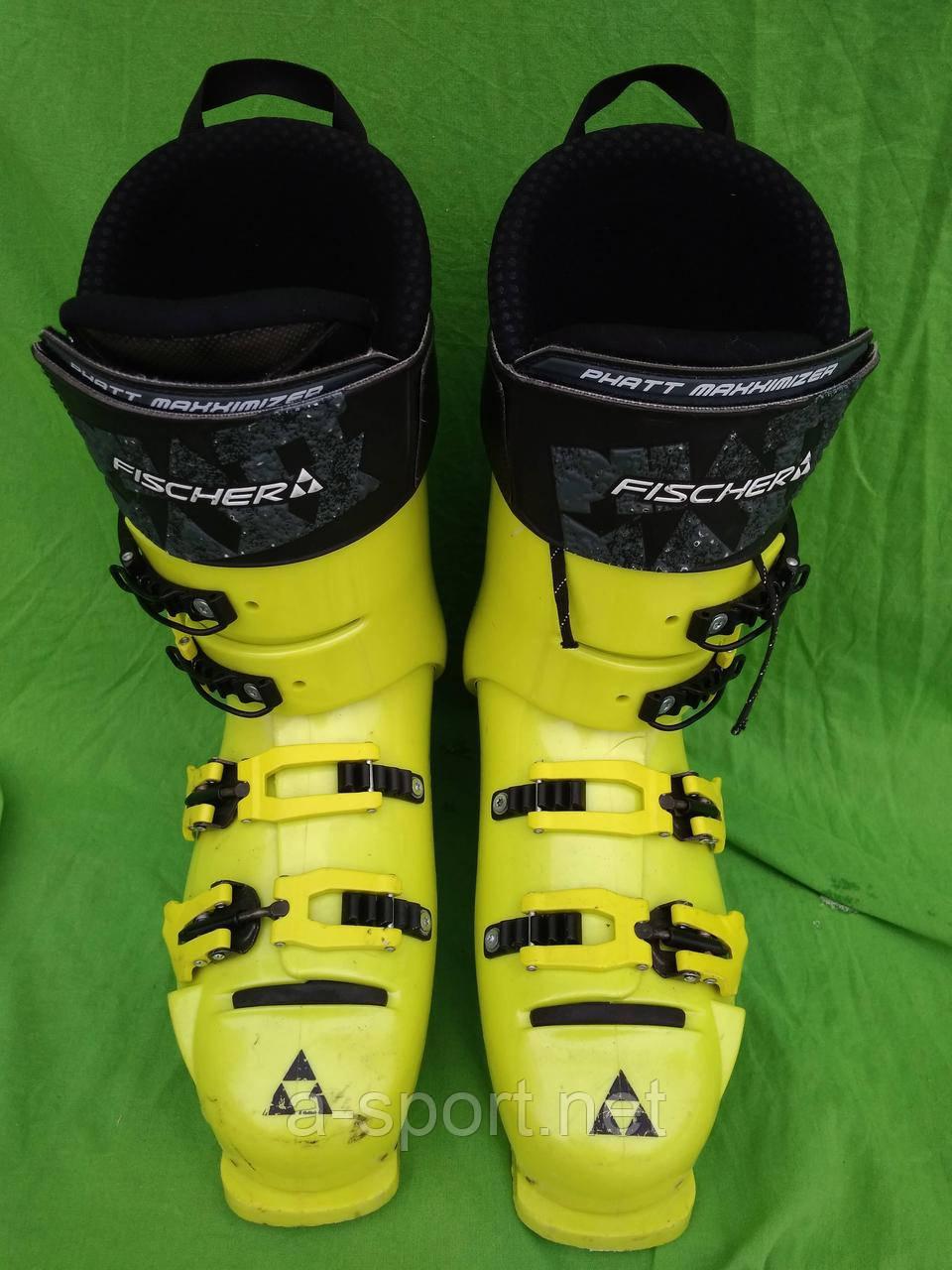 Гірськолижні черевики FISCHER RC4 Pro 150 Vacuum 27.5 см  продажа ... 01a1ae2e4726c