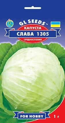Капуста Слава, пакет 1г - Семена капусты, фото 2