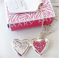Кулон сердце на цепочке Mary Kay
