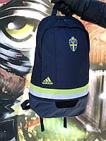Городской спортивный тёмно-синий рюкзак Adidas Perfomance. Original.