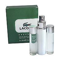 Мини парфюм Lacoste Essential (Лакост Эссеншиал) 3*15 мл.