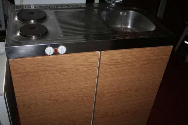 Мини-кухня 3 в 1 мойка плита холодильник (Германия)