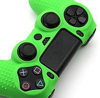 Силиконовый чехол Game Teh X Geeg для PS4 Зеленый (Арт. 10429)