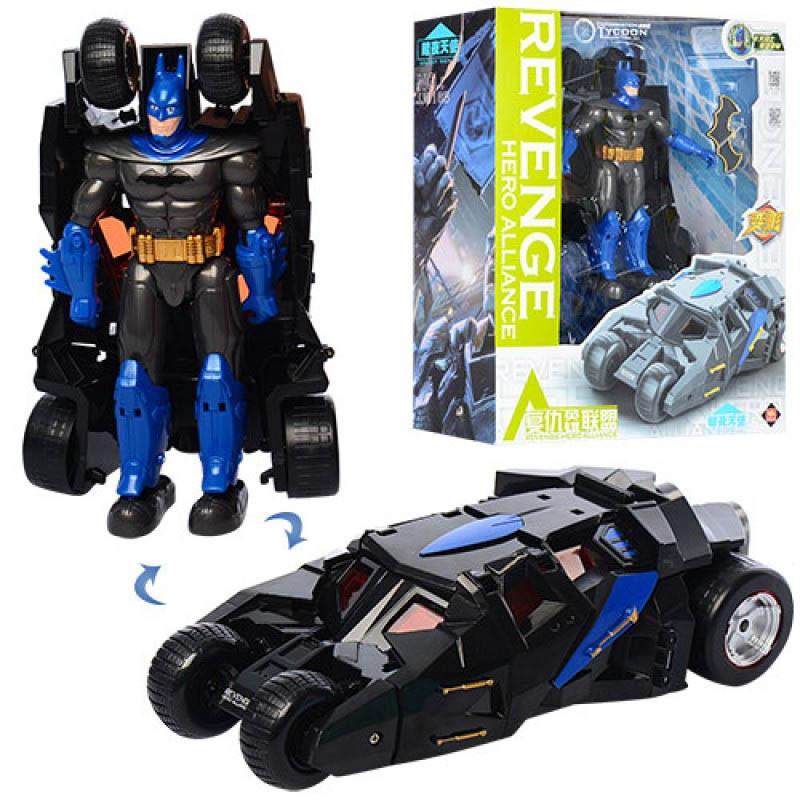 Трансформер машина Бэтмен Batman JJ618A/B