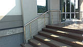 Перила нержавеющие круглые, фото 2