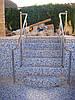 Перила нержавеющие круглые, фото 3