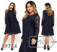 Стильное платье     (размеры 48-54)  0147-01, фото 1