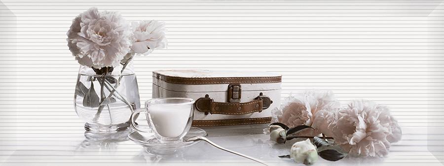 PERGAMO декор белый / Д 123 061-2