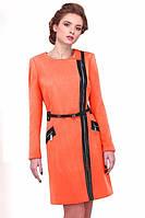 Модное женское пальто на молнии
