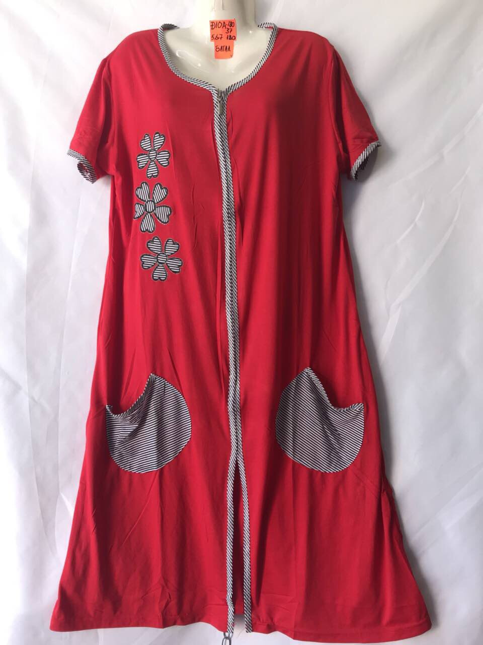 Женская котоновая пижама (р-ры 58-60-62) Батал оптом со склада в Одессе.