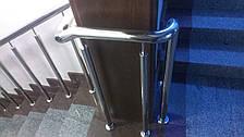 Перила нержавеющие с вертикальными прутиками, фото 2