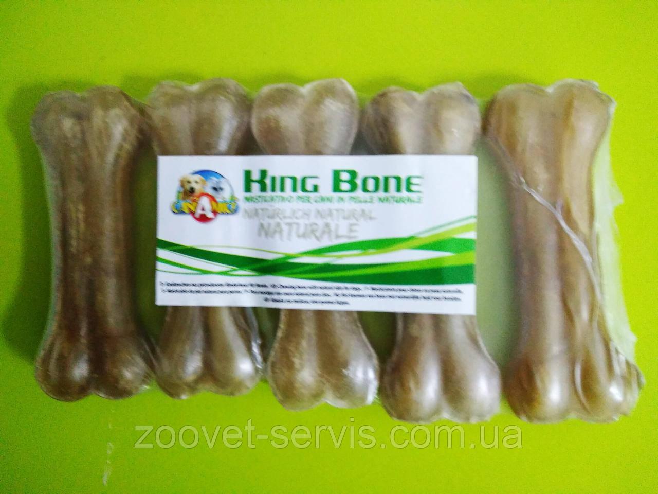 Кость жилистая 7,5 см Croci KingBone упаковка 5 шт С6ВI2238