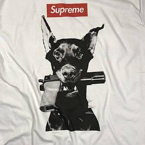 Футболка Supreme Dog | Бирка | Цифровая печать, фото 2