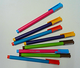 Ручка Гелевая Enjoy Синяя Axent Германия