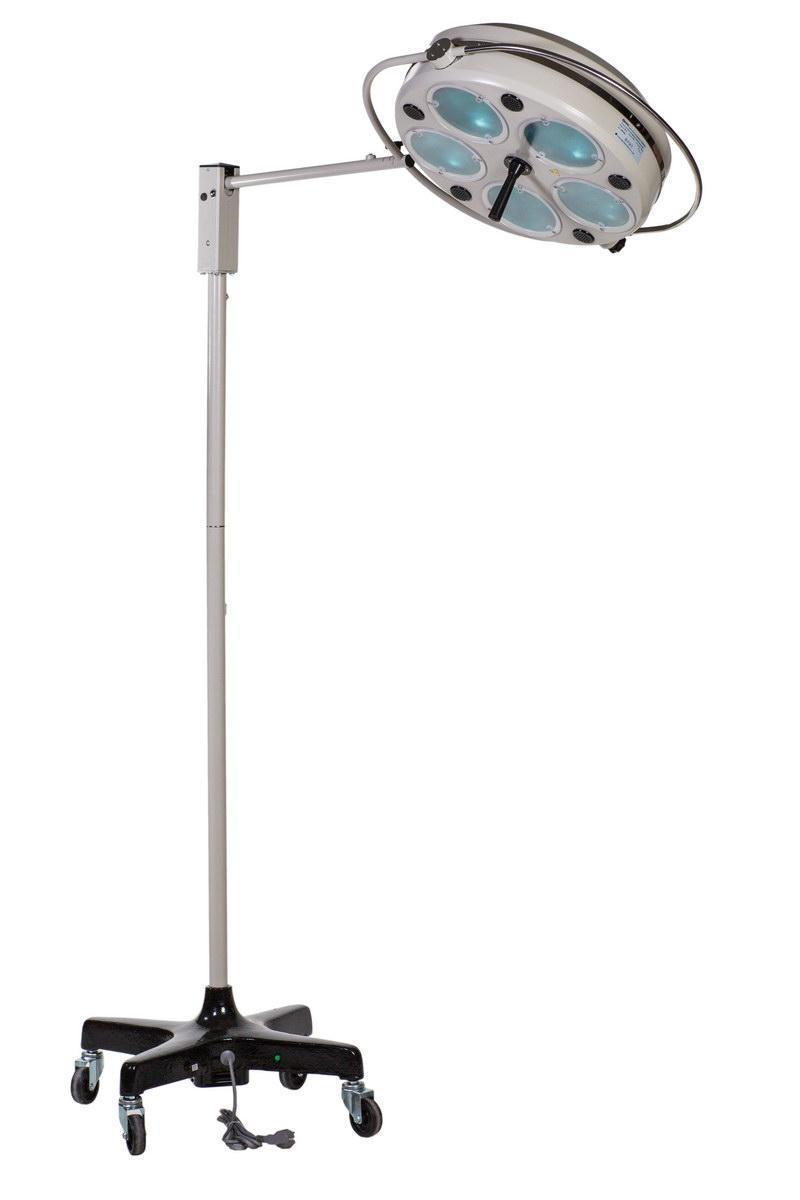 Светильник хирургический L735-II-пятирефлекторный передвижной