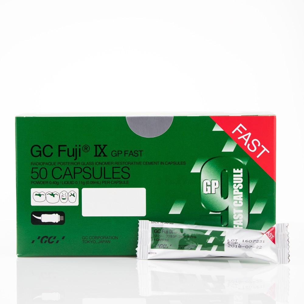 Склоіономерний цемент Fuji IX  GP Fast A2 (50 капсул)