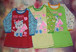 Детская ночная рубашка 1679 начес