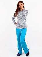 Ярка пижама женская с штанишками (S-2XL)