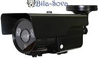 Видеокамера цветная VLC-1070WFA всепогодная, 700 ТВЛ, f=2.8-12мм, Ик до 60м, OSD меню, Light Vision