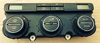 Блок управления печкой с кондиционером  VW Touran