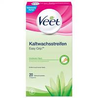Veet  EasyGrip™ Kaltwachsstreifen - Восковые полоски  20 шт.