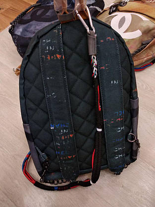 Рюкзак граффити брендовый, тканевый, фото 3