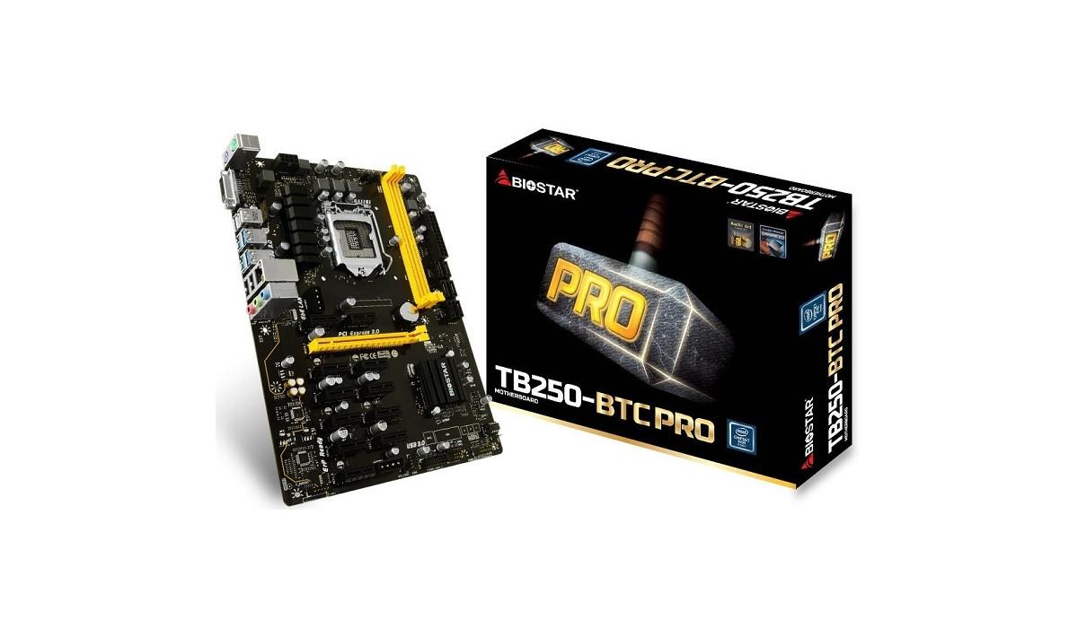 Материнская плата Biostar TB250-BTC PRO Intel B250, s1151, ATX