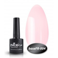 Камуфлирующая База  для гель-лака Nice (BaseFR -004), 12 мл
