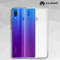 Чехол силиконовый Ультратонкий Epik для Huawei P Smart 2019 прозрачный