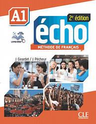 Écho 2e édition A1 Méthode de Français - Livre de l'élève avec DVD-ROM et Livre-web