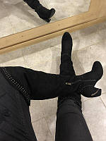 Шикарные ботфорты на очень удобном каблуке все размеры