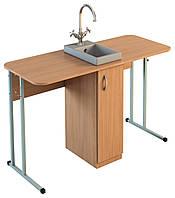 Стол лабораторный для кабинета химии с мойкой, фото 1