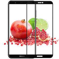 Защитное стекло iPaky Xbillion 3D Full Glue для Huawei P Smart Black