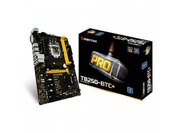 Материнская плата Biostar TB250-BTC+ Intel B250, s1151, ATX