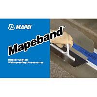 Прорезиненная лента для гидроизоляции расширительных швов ,MAPEBAND 12 50 м Mapei